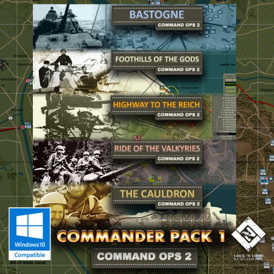 Command Ops 2: The Commander Pack I