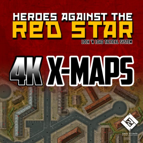 Heroes Against the Red Star 4K X-Maps