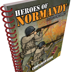Heroes of Normandy Companion Book