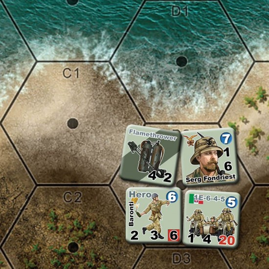 Heroes of North Africa X-Maps