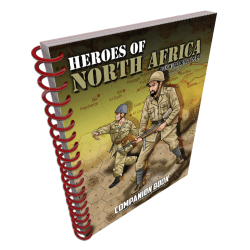 Heroes of North Africa Companion Book