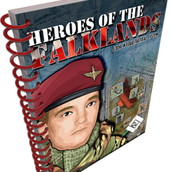Heroes of the Falklands Companion Book