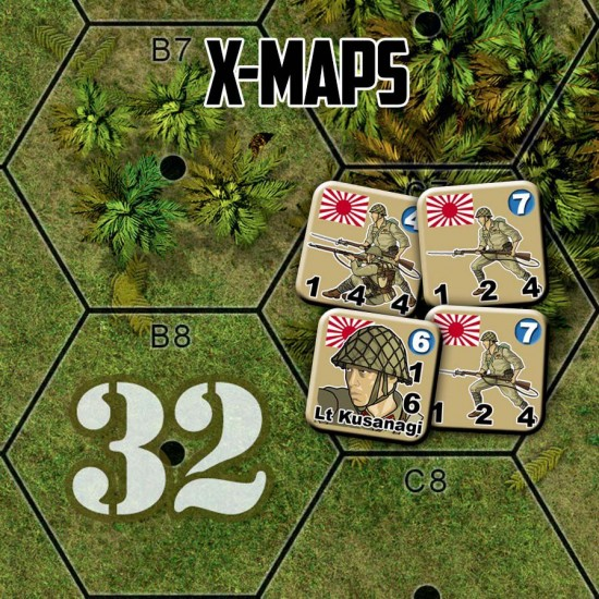 Heroes of the Pacific X-Maps