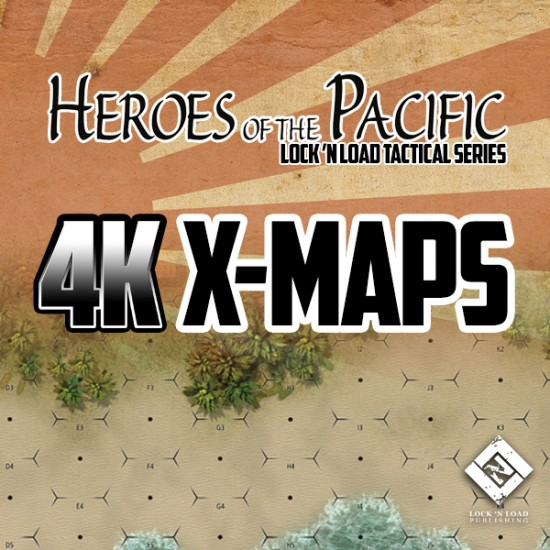 Heroes of the Pacific 4K X-Maps
