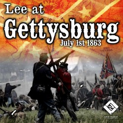 Lee At Gettysburg - July 1st 1863
