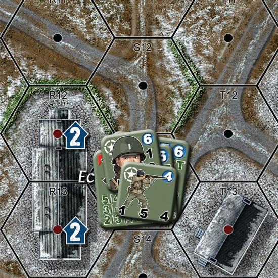 Noville Bastogne\'s Outpost X-Maps