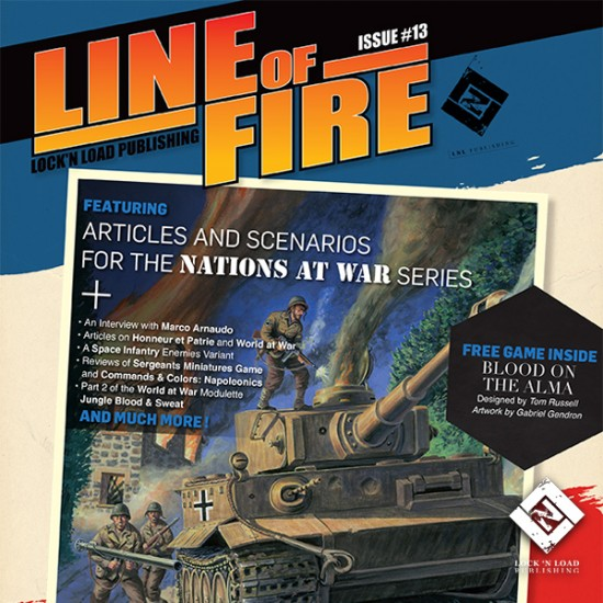 Line of Fire Issue #13
