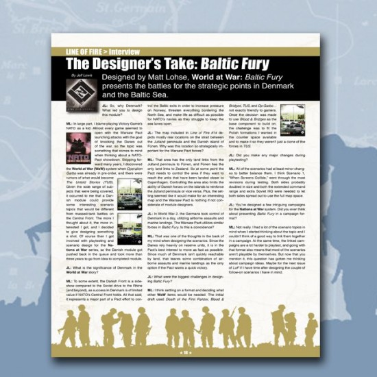 Line of Fire Issue #14