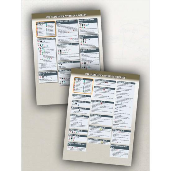 LnLT v5.1 Player Aid Cards