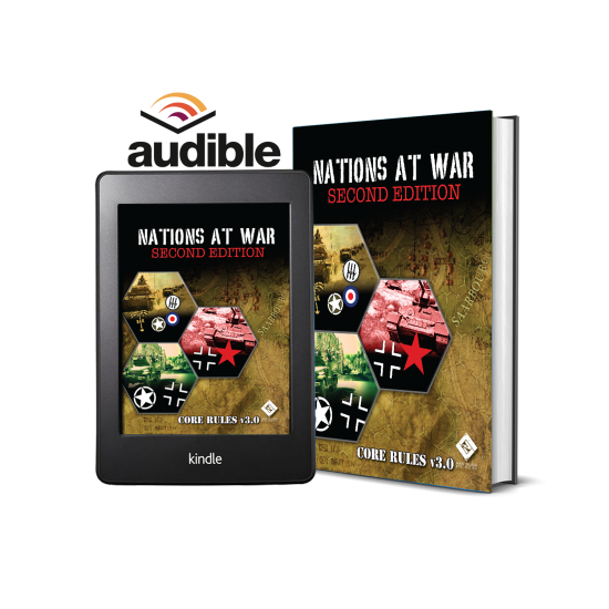 Nations At War Hardcover Core Rules v3.0