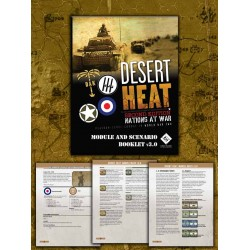 NaW Desert Heat 2nd Edition Module Rules and Scenario Spiral Booklet
