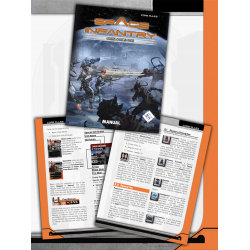 Space Infantry Resurgence Core Rules v2.1 Spiral Booklet