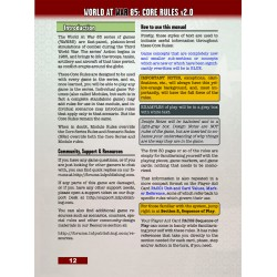 WaW85 Core Rules v2.1 Spiral Booklet
